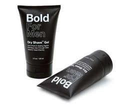 Bold For Men's Dry Shave Gel is the first luxury shave product designed to deliver a dry versus a wetshave. For those of you wondering, that means no water,...