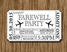 2. Send out the party invitations