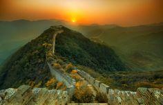 Fotografii: Marele zid Chinezesc
