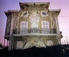Giovanni Brega, Villa Ruggeri, Pesaro, 1902 Italy
