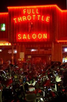 Full Throttle Saloon Sturgis been there done that going back for 75th anni of the rally. .....