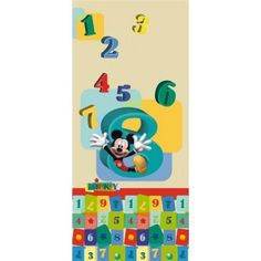 Mickey egér számos poszter (90 x 202 cm) Disney Mickey Mouse, 7 And 7, Kids Rugs, Home Decor, Kids Rooms, Decoration Home, Kid Friendly Rugs, Room Decor, Home Interior Design