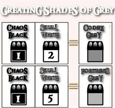 Mixing the entire citadel color line with just a few colors - Painting Tutorials…