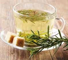 6 Herb Tea Remedies to Brew with simple directions for quickly turning these common herbs into healthy, tasty teas. Herbal Medicine, Natural Medicine, Herbal Remedies, Natural Remedies, Rosemary Tea, Thyme Tea, Cooking Herbs, Kitchen Herbs, Healing Herbs