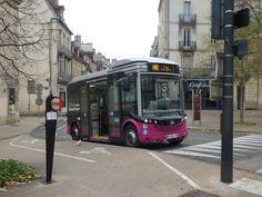 Navette Divia City gratuite en hyper-centre de Dijon