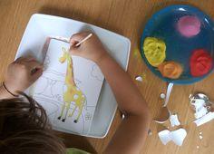 Malowanie kolorowym piaskiem dla dzieci-Best Idea For