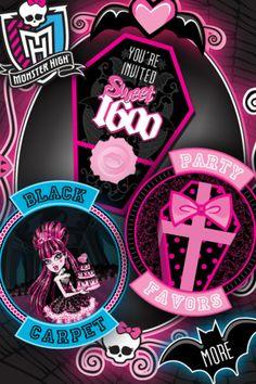 Monster High Sweet 1600 Main Menu