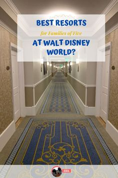 "Families of 5 make it tricky to find a ""just right"" sized resort room. Discover our family of 5's favorite rooms to stay in at Walt Disney World, as well as all of the things that you should consider to find your family perfect room."