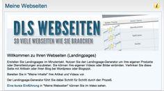 Webseiten erstellen by Carsten Stolle. Webseiten http://dasleadsystem.com Wie kann ich eine Webseite erstellen? Landingpage ohne Programmierkenntnisse erstellen