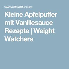 Kleine Apfelpuffer mit Vanillesauce Rezepte | Weight Watchers