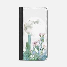 Desert Nights by Nature Magick - Cactus Cacti and Succulents Clear Case