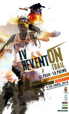 Se abre el plazo de inscripción de la IV Reventón Trail El Paso #LaPalma #canarias - (En el cartel la brasileña Fernanda Maciel, del equipo The North Face Internacional)