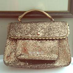 Ted Baker Slimmer Gold Bag