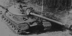 Another picture of IS7 (Object 260) - muzzle brake clearly visible