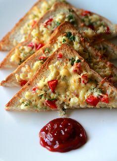 Grilled Paneer Sandwich Recipe Rak S Kitchen