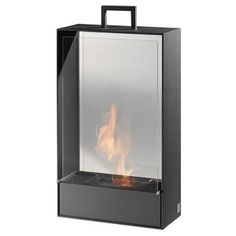 Doramar D8 Fireplace Black now featured on Fab.