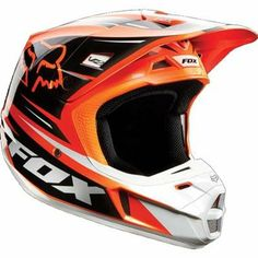 Motocross Fox Helmets - Protect yourself with only the best Dirt Bike Fox Helmets in the industry. Get a Motocross Fox Helmets from BTO Sports today! Dirt Bike Gear, Motocross Helmets, Motorcycle Dirt Bike, Dirt Bike Helmets, Racing Helmets, Motorcycle Style, Dirt Biking, Fox Motocross, Fox Helmets