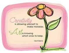 a little ditty about art and creativity