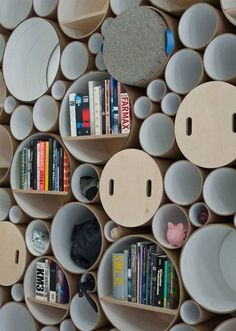 Ideias sensacionais para quem tem muitos livros | Mundo Gump