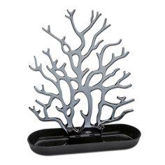 Un nouvel arbre à bijoux en toute transparence. Idéal pour faire un cadeau pratique et féminin.