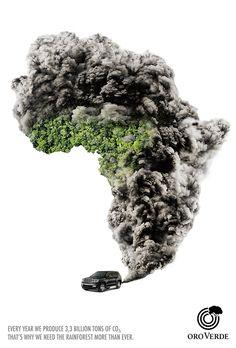 """""""Todo ano produzimos 3,3 bilhões de toneladas de CO2, por isso precisamos das florestas mais do que nunca."""" Assim como de meios para o descarte adequado... Conte com nossa busca por postos de seus resíduos em: www.ecycle.com.br/postos/reciclagem.php  www.eCycle.com.br Sua pegada mais leve."""