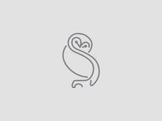 Resultado de imagem para simple owl tattoo back