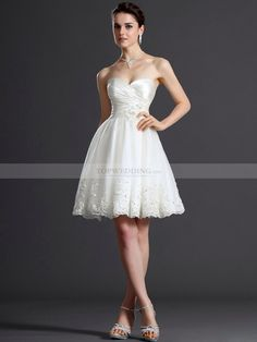 Bridal reception dress. I want this so bad