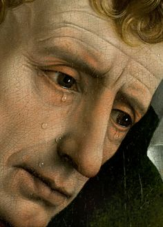Detail from Descent from the Cross -Deposition- 1435 Rogier van der Weyden