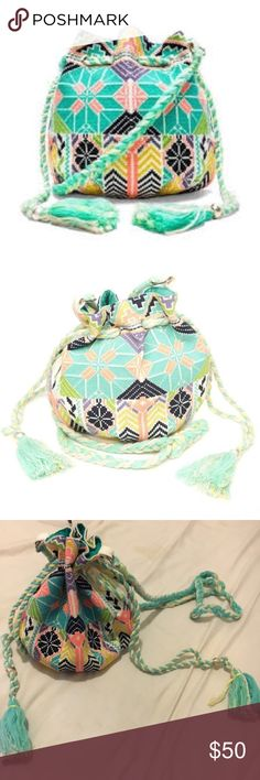 Star Mela Cross Body Bag Super cute cross body bag. Vibrant and roomy. Great condition make me a reasonable offer!! Anthropologie Bags Crossbody Bags