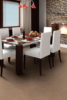 The Worthington carpet resists stains and minimizes shedding. Click through to see the gorgeous natural brown tones to choose from. This is just one of the Home Decorators Collection's more than 60 styles of carpet that come in hundreds of rich colors.