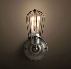 American Style Edison Vintage Iron Industrial Wall Sconce Lamp/ Edison Lighting Fixture-in Wall Lamps from Lights & Lighting on Aliexpress.com | Alibaba Group