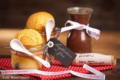 Nougat selbst gemacht Marzipan, Chocolate Fondue, Cheese, Candy, Bottle, Desserts, Food, Diy, Schokolade