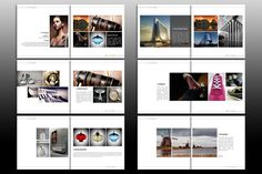 Indesign Brochure Template by izzatunnisa on @creativemarket