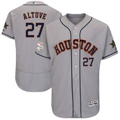 698dfabc293 Jose Altuve Houston Astros Majestic 2017 MLB All-Star Game Authentic Flex Base  Jersey - Gray