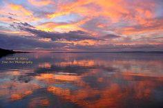 Sunset in Siófok
