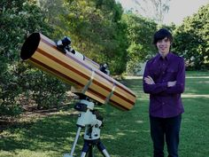This 18 Year-Old Built His Own Telescope… Wait Till You See His Pictures Of Space.