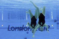 Estas chicas de Argentina nadaron en los Juegos Olímpicos.