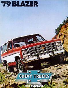 Car Brochures - 1979 Chevrolet and GMC Truck Brochures / 1979 Chevy Blazer-01.jpg