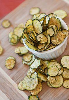 Salt and Pepper Zucchini Chips