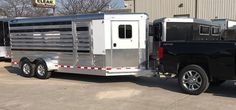 Special thank you to Jon Daniels of Ironton,Ohio on the purchase of his new 2017 4-Star Trailers, Inc. 6-pen show trailer.  This beautiful 4-Star was optioned up with Polished Slats,Top Rail & Rear Corner Post,Insulated Roof in Stock Area. It was a a great pleasure to business with you Jon!! Good luck!!!  Rob King (765) 323-3005 / (765) 366-5866