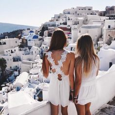 best friends, goals, and Greece image