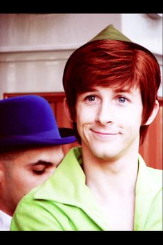 Spieling Peter Pan... how did I not know of this guy until now? He's absolutely adorable!!