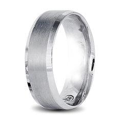 white gold mens wedding ring Wedding Men, Wedding Rings, Rings For Men, Bands, White Gold, Engagement Rings, Jewels, Design, Rings For Engagement