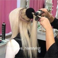 Short Hair Or Long Hair?  This hairstyle looks very difficult 😳😳😳 By @fedorova_hairstylist • TAG 3 FRIENDS!!! Follow: @hair.place ❣ Follow: @hair.place ❣ • Also👉 @tutorial.now  Also👉 @tutorial.now  Also👉 @style.place  Also👉 @style.place • #hair #style #styles #haircut #hairstyle #hairstyles #tutorial #diy #hairdo #moda #fashion #nails #makeup #girl #girls #love #pretty #fun #longhair #shorthair #instagram