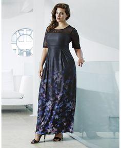 """Anna Scholz"" Anna Scholz Ombre Maxi Dress at Simply Be"
