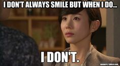 Park Ye Jin is mean lady Director Oh in My Princess. HAH, she really never smiles in this show! #Kdrama