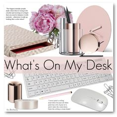 What's On My Desk? by beebeely-look on Polyvore featuring polyvore, interior, interiors, interior design, home, home decor, interior decorating, HAY, Menu and Diane James