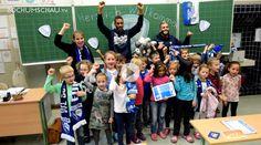 Der VfL Bochum besucht im Rahmen seiner Schuloffensive 20 Bochumer Grundschulen.