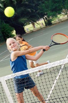 Fun Tennis Drills for Kids and Junior Tennis Players
