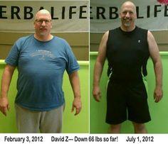 Herbalife: Herbalife Results: Dave Z